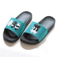 Sandal Jelly Motif Bears Warna Baru