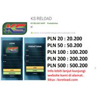 Token Listrik Murah - Pendaftaran Agen Pulsa ksreload.com