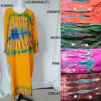 Long Dress Jumbo Arab Baju Daster Pakaian Tidur Batik Pekalongan 1