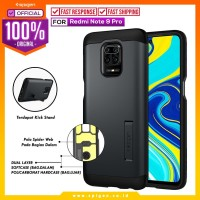 Case Redmi Note 9 / Pro / Max Spigen Tough Armor Anti Shock Casing