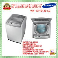 Mesin Cuci 1 tabung Samsung WA-10M5120 kaps.10Kg - jABODETABEK