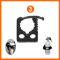 Rubber Clamp Mounting Kit (3)