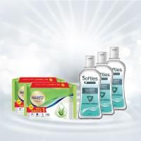 Atria Paket APD Tisu Basah Paseo + Hand Sanitizer 60ml