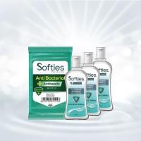 Atria Paket APD Tisu Basah Anti Bacterial + Hand Sanitizer 12 6oml