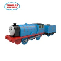 Thomas and Friends TrackMaster Motorized Engine (Edward)-Mainan Kereta