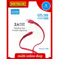 Lightning cable Acmic fast charging 2A for iphone 5 6 original