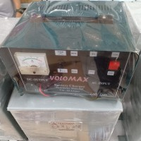 charger accu charger aki 12v 24v 50a volomax vm-50a high quality