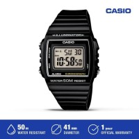 Casio Jam Tangan Digital Pria W-215H-1AVDF Black Original