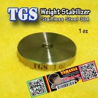 Weight Stabilizer 1 oz Compound Recurve Bow Pemberat Busur Panah