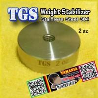 Weight Stabilizer 2 oz Compound Recurve Bow Pemberat Busur Panah