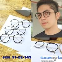 Paket Frame Kacamata Minus Model Korea TR 6483 Lensa Anti Radiasi