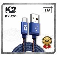 [GROSIR] Kabel Data DENIM K2 PREMIUM QUALITY K2-C04 TYPE C