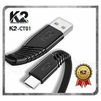[GROSIR] Kabel Data TOPLES K2-CTC01 K2 PREMIUM QUALITY TYPE C
