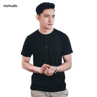 Namuda Henley Shirt Jet Black