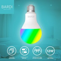 BARDI Smart Light Bulb 12W RGBWW Wifi Wireless IoT For Home Automation
