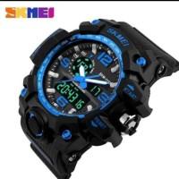 Jam tangan Pria Sport dual time SKMEI 1155