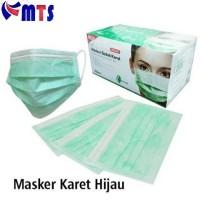 Masker Bedah Karet Earloop / Masker Wajah Onemed / Masker Motor One Me