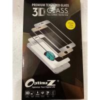 Optimuz Tempered Glass IP7/8 Plus 3D White