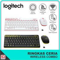 Logitech MK240 NANO Wireless Keyboard and Mouse Combo Original