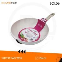 BOLDe Super Pan Granite Series Wok 28 cm - Beige