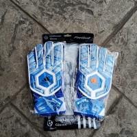 Sarung Tangan Kiper Tulang Adidas Anak-1 Import (Blue/White)