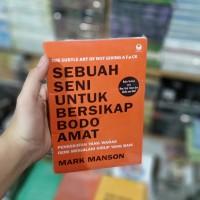 Buku Motivasi Sebuah Seni Untuk Bersikap Bodoamat - Mark Manson