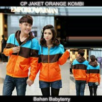 Couple Jaket Babyterry Oren