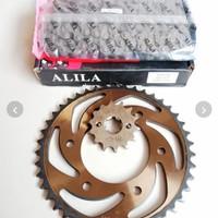 Gear gir set - gear gir paket vixion lama - vixion old baja bakaran