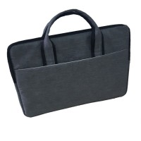 "Softcase Laptop 11"" - 12 inch Grey / Tas Laptop Jinjing - Abu-abu"