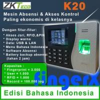 Mesin Absensi Akses Kontrol ZKTeco K20