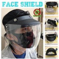 [Ready] Helm Topi APD corona import anti virus face shield bukan mika