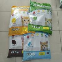 Grab/Gojek Only - Pasir Kucing Kawan 20kg cat litter bentonite