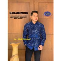 Kemeja Batik Pria Dewasa RAKABUMING Lengan Panjang By RAJA SAKTI