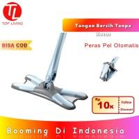[Top Living] X Mop Alat Pel Lantai Otomatis Rotary Technology -20063
