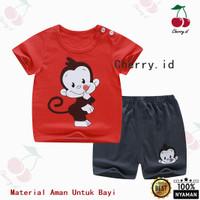 Setelan Baju Bayi Import Pakaian Baju Laki Laki