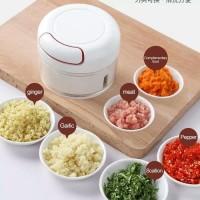 Alat Pengiris Bawang Merah Serbaguna / Hand Blender Bumbu Dapur