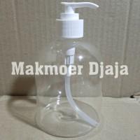 Botol Pump 500ml Kosong - Untuk Hand Sanitizer dan Hand Wash 500 ml