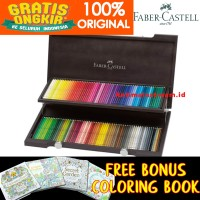 Pensil Warna Faber Castell Polychromos Color Pencils Set 120 Tin