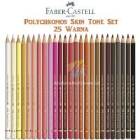 Pensil Warna Faber Castell Polychromos Skin Tone Portrait 25 Warna