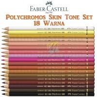 Pensil Warna Faber Castell Polychromos Skin Tone Portrait 18 Warna