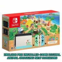 Nintendo Switch V2 Animal Crossing with Pre-Installed Game Digital
