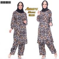 Amara SetCel Setelan Celana Wanita Setcel Busui Baju Setelan Terbaru