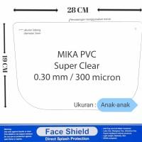 MIKA FACE SHIELD / MIKA BENING APD / MIKA APD ANAK-ANAK TEBAL 0.30 MM