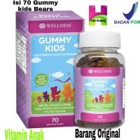 Wellness Gummy Kids / Children's Multivitamin Anak 70gummy / 70 Gummy