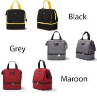 Lunch Bag Double Layer / Cooler Bag Heat tech