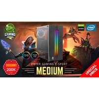 Paket PC Enter Gaming E-Sports MEDIUM INTEL X Nvidia 1650