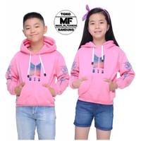 Hoodie BTS Anak / Sweater Hoodie BTS Anak usia 6-12 tahun