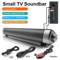 Speaker Soundbar Wireless Bluetooth dengan Remote Control TV