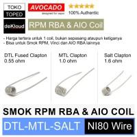Coil For Smok RPM RBA - Vinci X - Artery Nugget - AIO Pod - Authentic