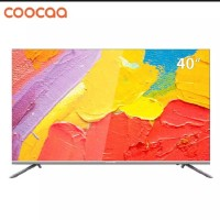 TP0911 Coocaa 40 inch Smart Tv Digital Full HD 40S5G packing kayu